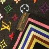 Louis Vuitton Foulard multicolore coton