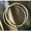 585 Gold Juweliersmarke FBM Tricolore Armreifen 12,5 Gramm
