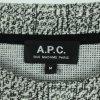 A.P.C. Paris Strickpullover Gr. M weiß/schwarz (20/09/228*)
