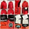 Anzoni Sports Jacket black-red