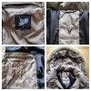 Fuchs Schmitt Down Coat beige textile fiber