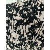 H&M Kleine feine Strickjacke Gr. L 38 40 Taupe mit schwarzem Muster Sehr guter Zustand