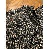 Kleid Animal Print knielang