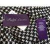 Ralph Lauren Collection, Bluse, schwarz-weiß, Seide, 36 (US 6), neu, € 650,-