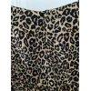Schicker Leoparden- Print Rock 36/38