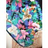 Traje de baño multicolor poliamida