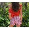 shorts kurze Hose high waist blogger high rise
