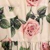 Sommerkleid Rosenmuster