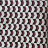 Zigarettenhose aus dicker Baumwolle mit coolem Muster