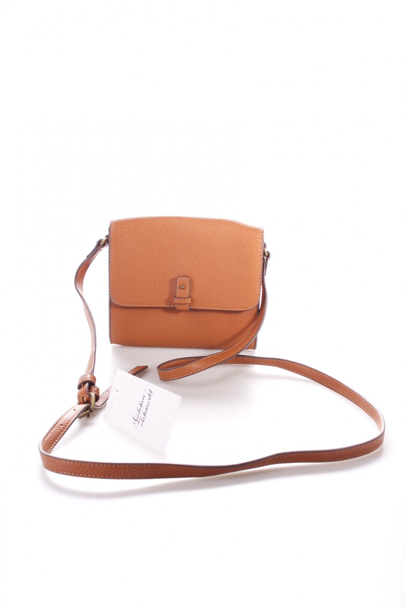 esprit umh ngetasche cognac vintage look damen tasche bag crossbody bag ebay. Black Bedroom Furniture Sets. Home Design Ideas