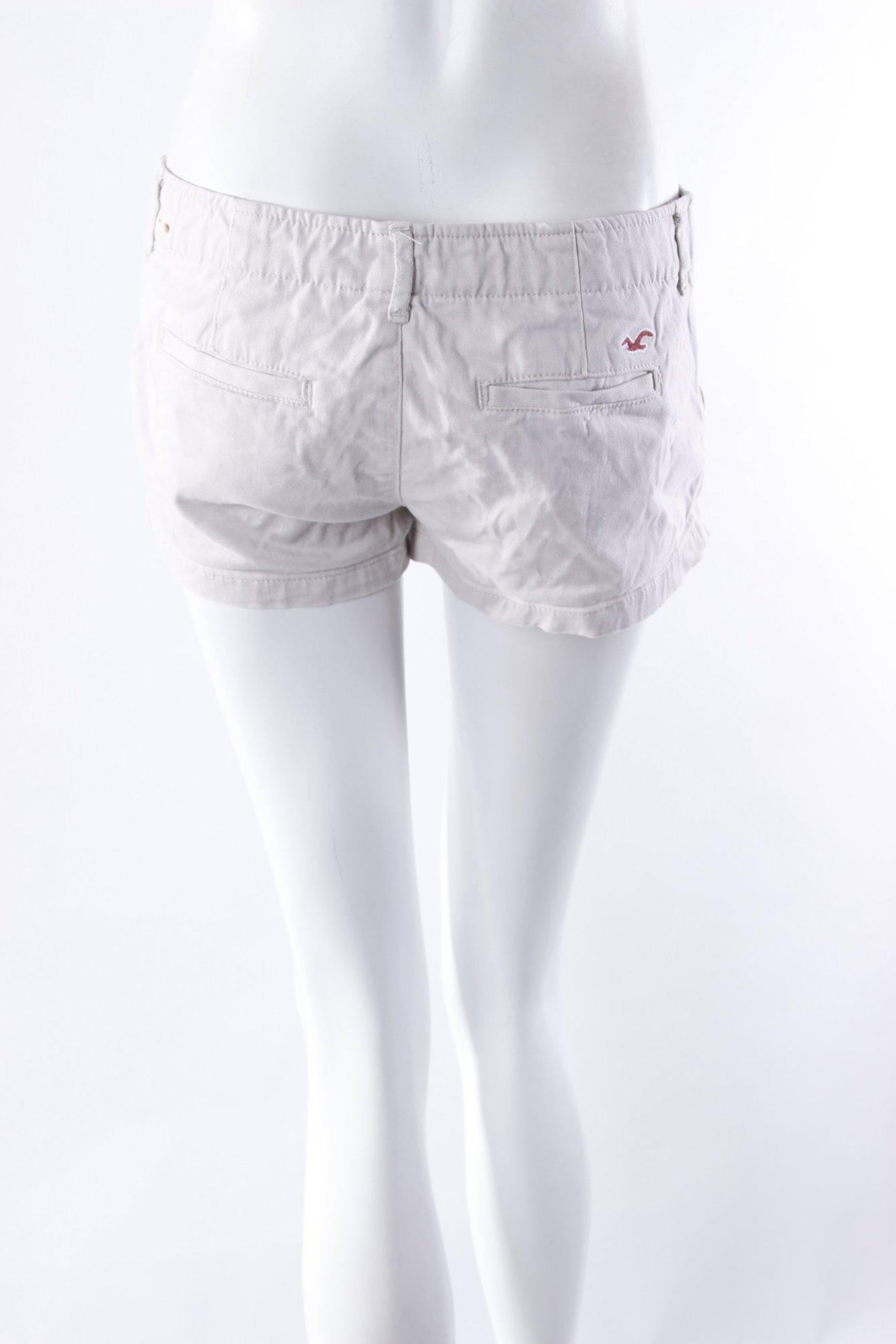 hollister shorts sandbraun damen gr de 34 hose trousers. Black Bedroom Furniture Sets. Home Design Ideas