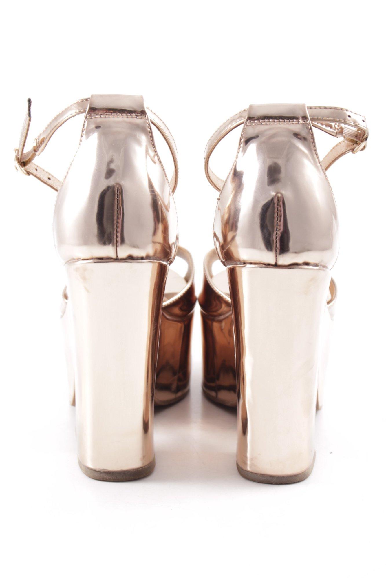 Damen Plateau look Roségoldfarben Jeffrey 41 Party sandaletten De Campbell Gr 5Cqaww6Y