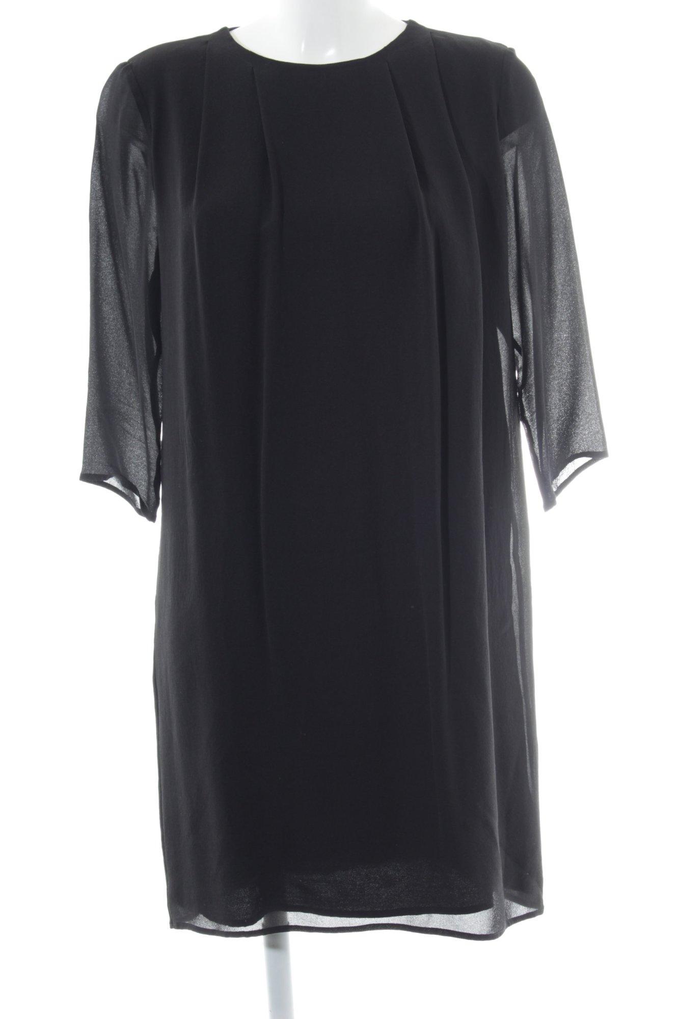 KAVIAR GAUCHE FOR ZALANDO Blausenkleid schwarz Elegant Damen Gr. DE 38 Kleid