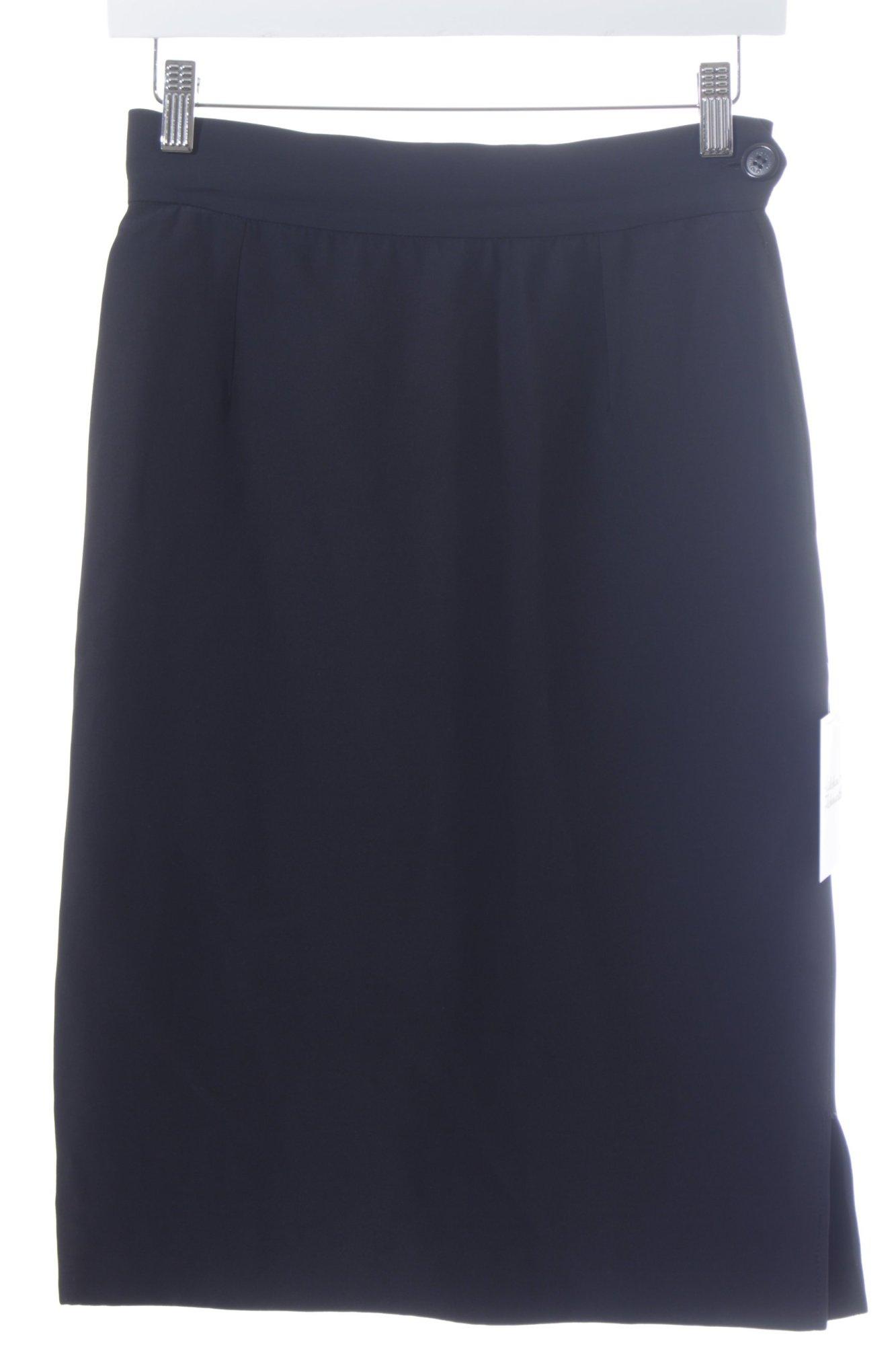 MOSCHINO-Falda-de-tubo-negro-estilo-business-Mujeres-Talla-EU-36