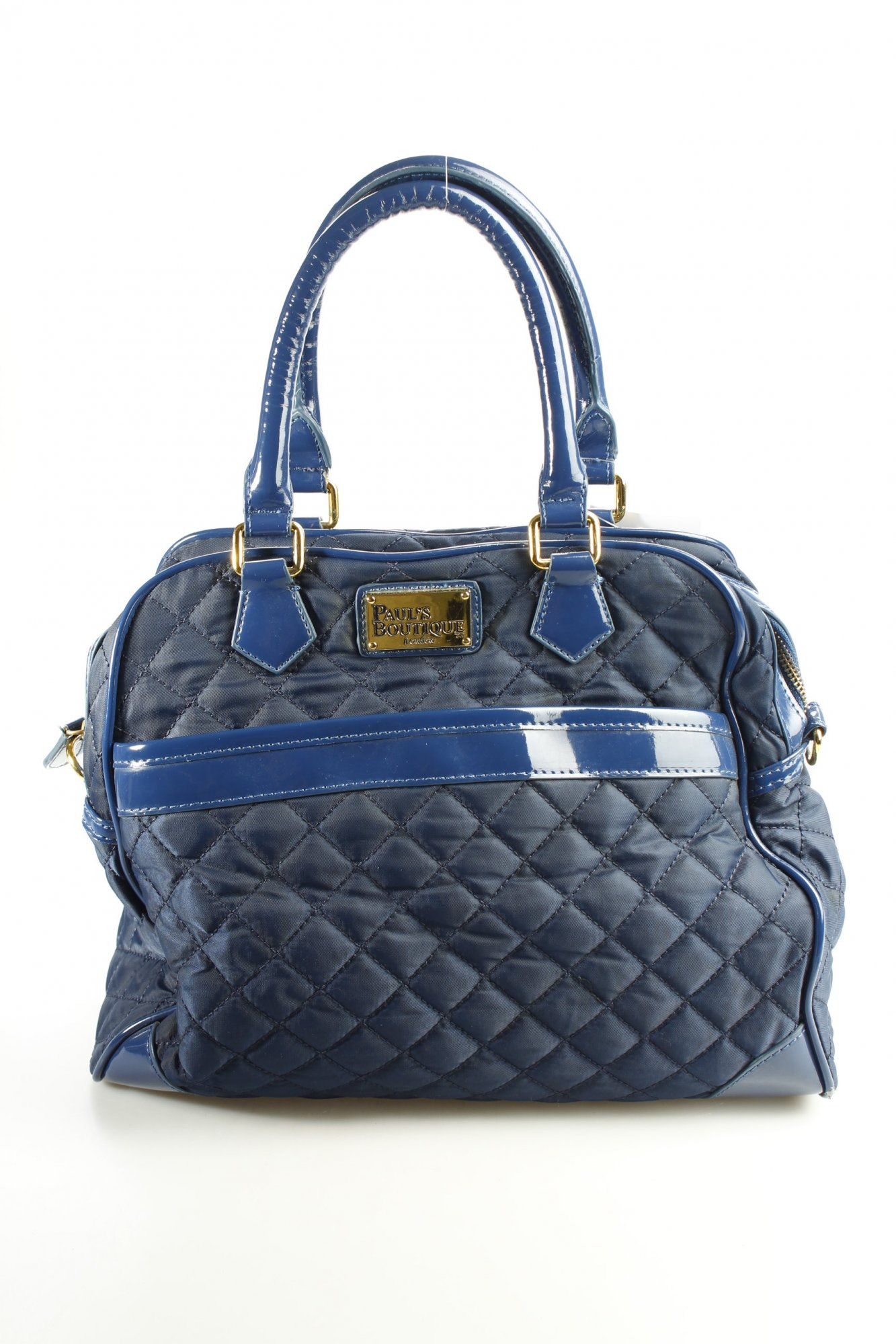 Pauls Boutique Borsetta Blu Scuro Motivo Trapuntato Stile Materiale Misto Donna - pauls - ebay.it