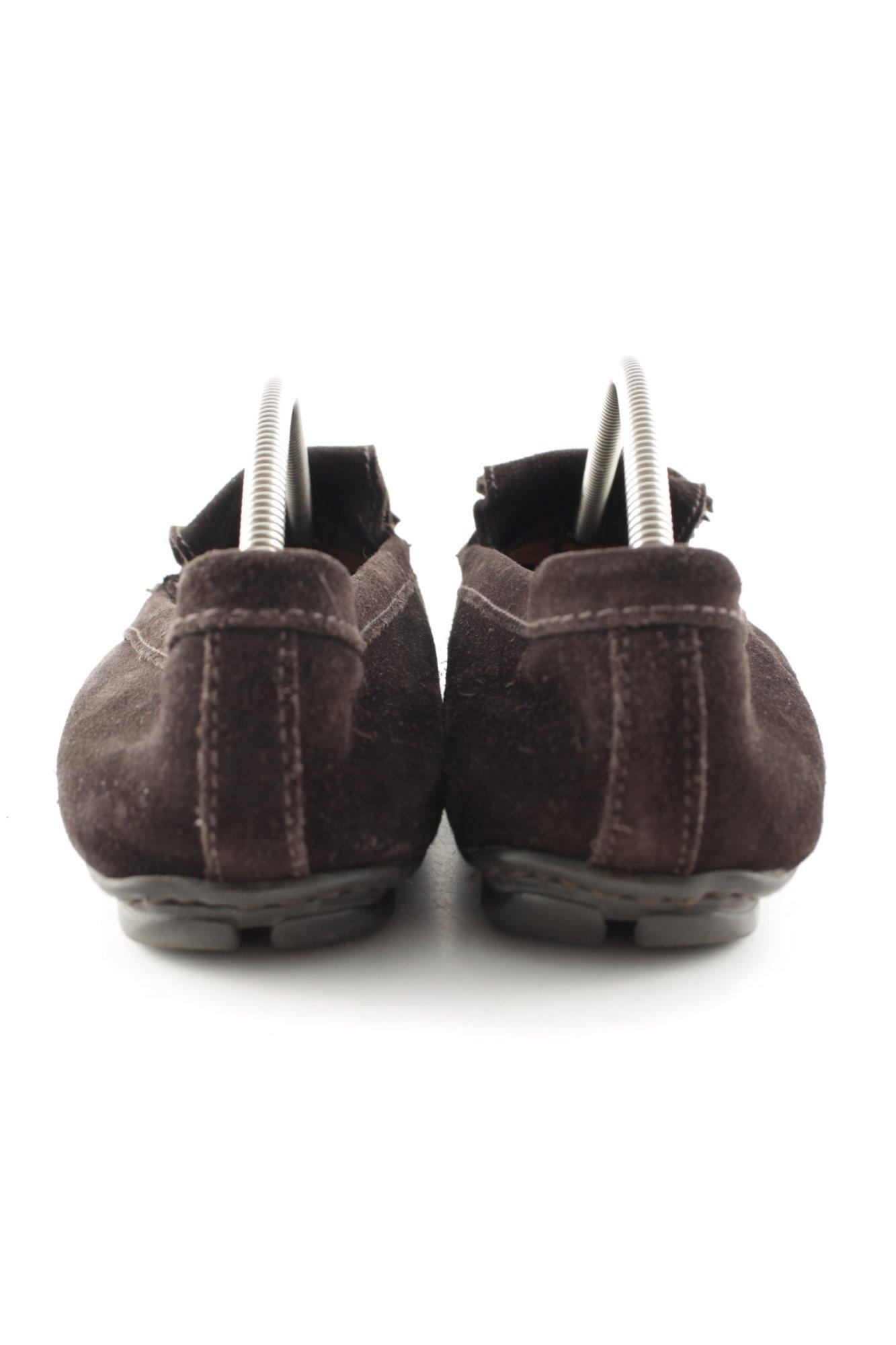 PRADA Mocassino marrone scuro stile casual IT Donna Taglia IT casual 38,5 Scarpa d7abb8