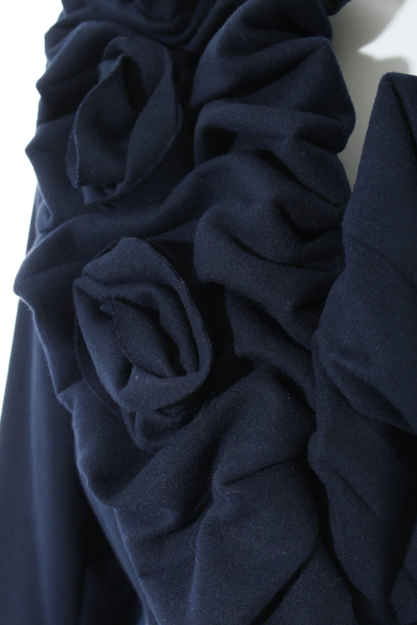 Coat 40 look Damen Casual Übergangsmantel De Rinascimento Mantel Gr Dunkelblau wvqaSxxHz