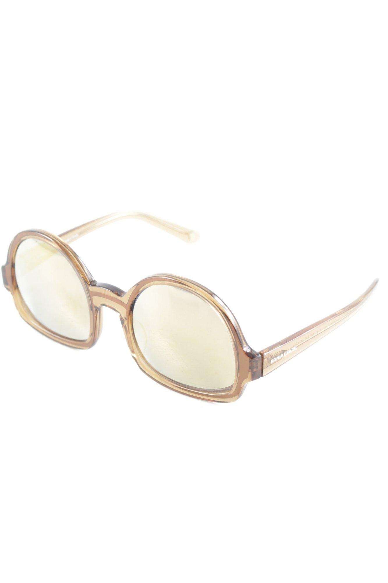 SONIA RYKIEL Lunettes retro marron clair style rétro Dames Lunettes de  soleil b4408d4918fd