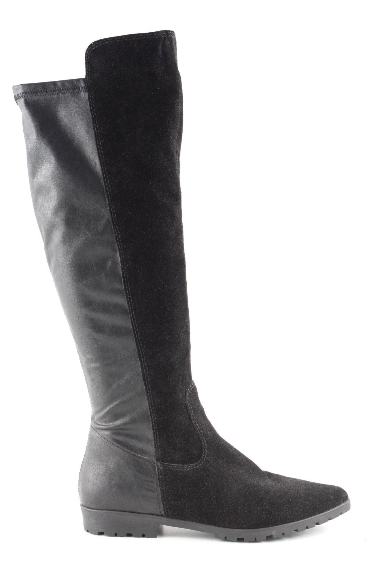 Details zu Tamaris Stiefel Weitschaft Weite L XL camel braun Gr 39 Boots brown beige 34