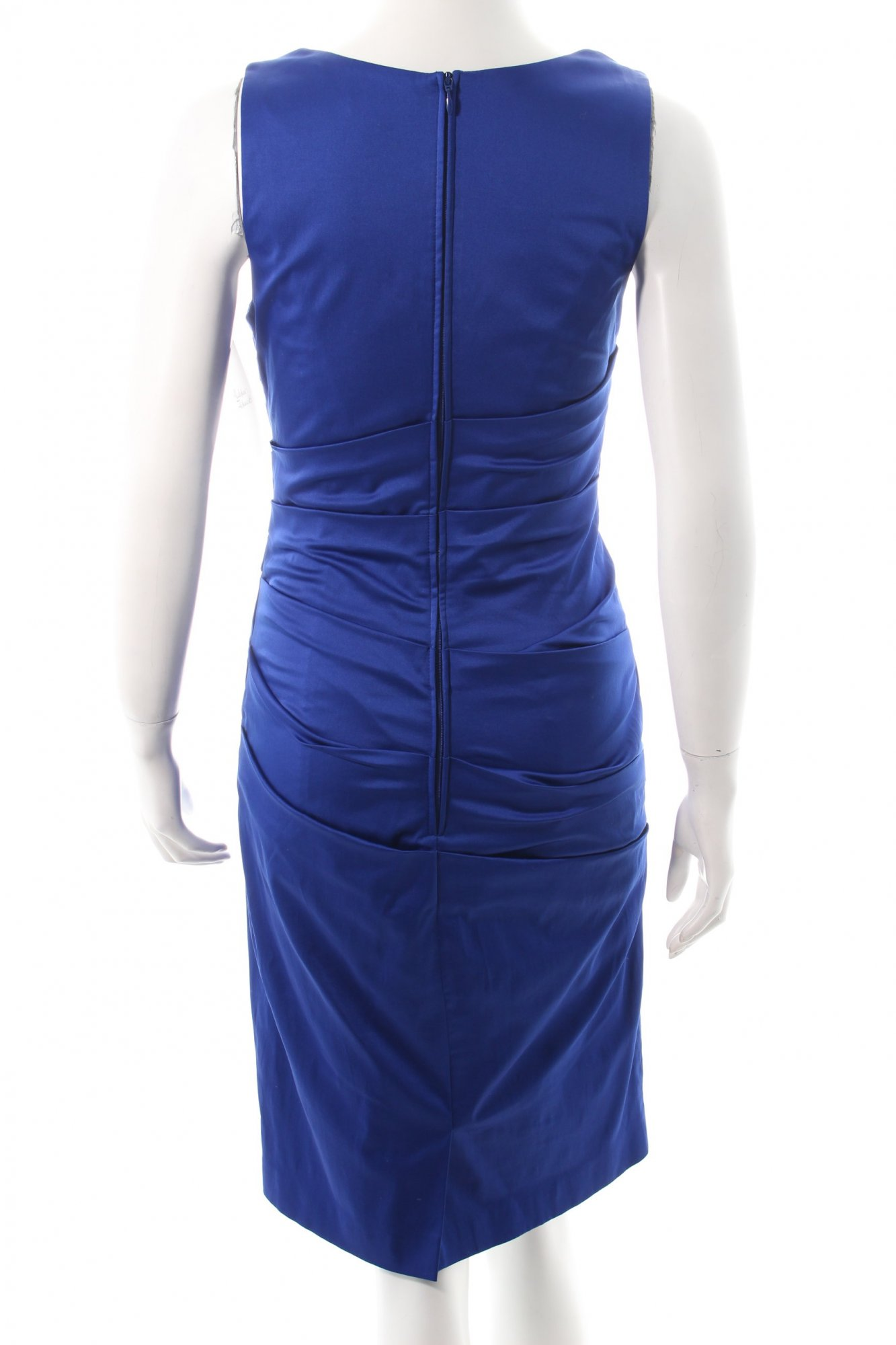 vera mont cocktailkleid blau eleganz look damen gr de 36 kleid dress ebay. Black Bedroom Furniture Sets. Home Design Ideas