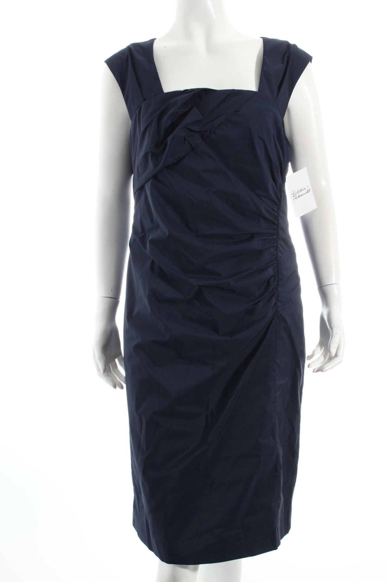 vera mont etuikleid dunkelblau eleganz look damen gr de 40 kleid dress. Black Bedroom Furniture Sets. Home Design Ideas