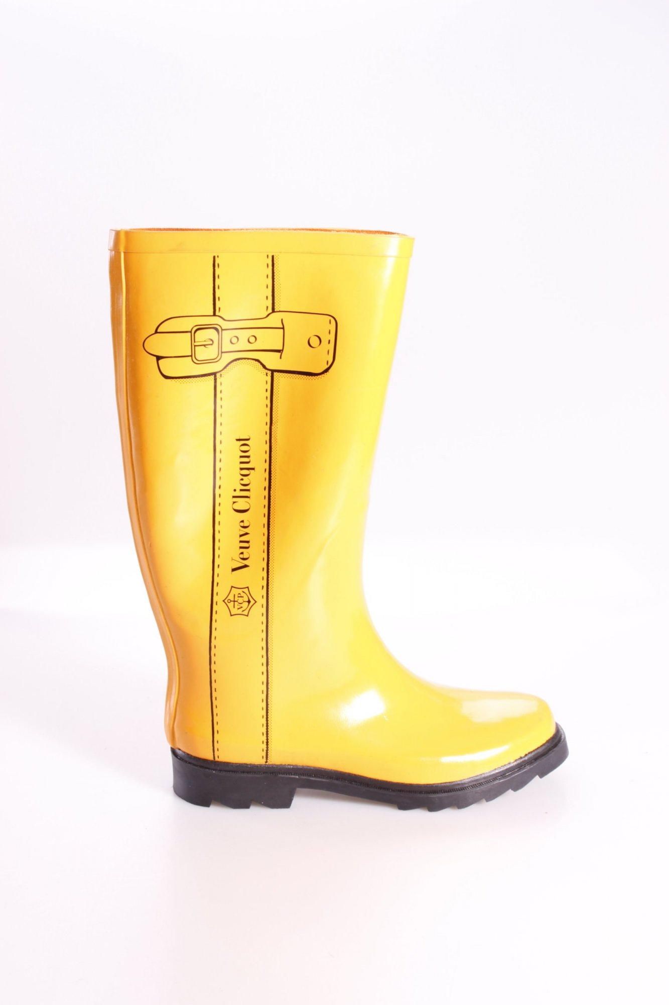 veuve clicquot gummistiefel gelb damen gr de 42 dunkelgelb stiefel high boots ebay. Black Bedroom Furniture Sets. Home Design Ideas