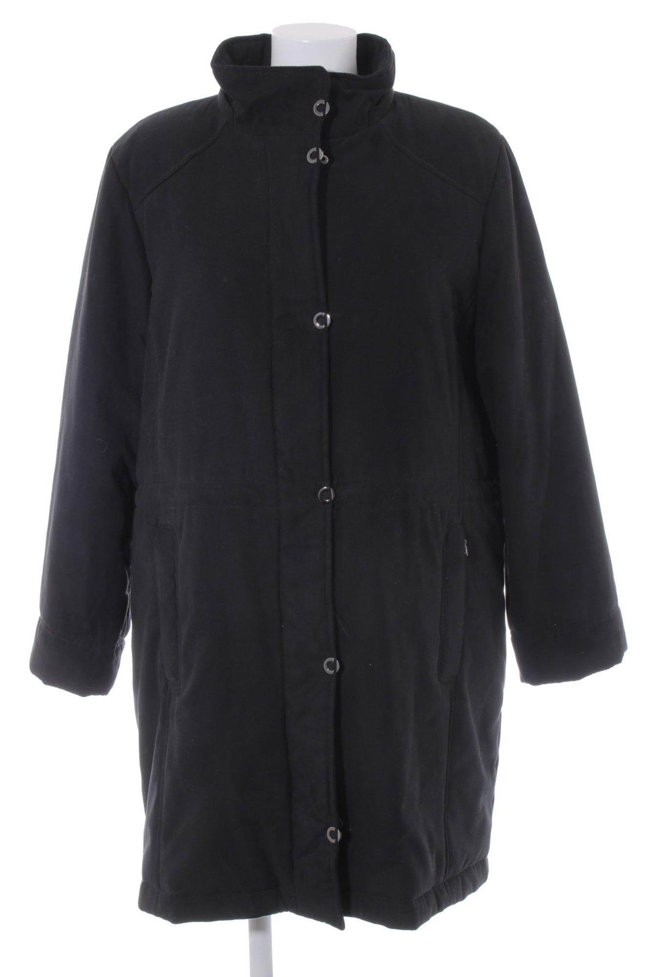 Wintermantel look Schwarz Coat Damen Mantel De 44 Gr Casual Winter qEEar