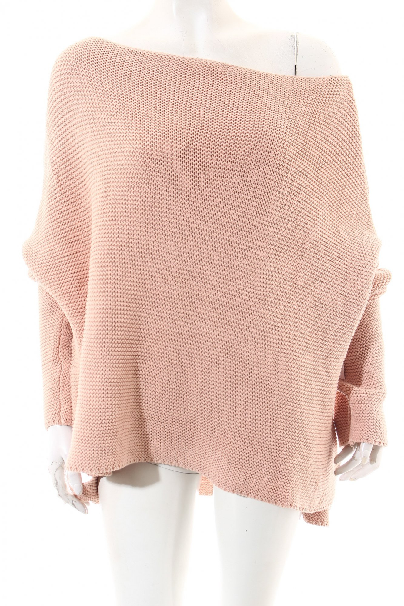 ZARA-Pull-rose-style-mode-des-rues-Dames-T-40-rose-coton