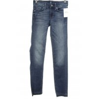 "7 For All Mankind Röhrenjeans ""Roxanne"" blau"