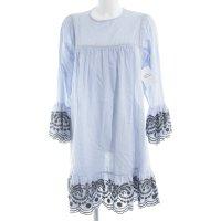 A-Linien Kleid florales Muster Casual-Look