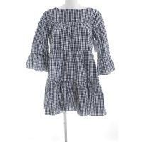 A-Linien Kleid Karomuster Casual-Look