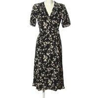 ARKET Blusenkleid schwarz-weiß Business-Look