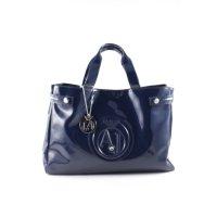 Armani Jeans Henkeltasche blau Casual-Look