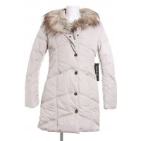 Betty Barclay Wintermantel hellbeige-graubraun Casual-Look