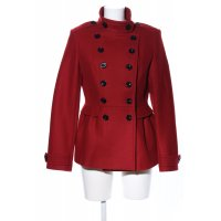 Burberry Brit Wolljacke rot Business-Look
