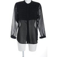 Calvin Klein Transparenz-Bluse schwarz Street-Fashion-Look