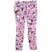 Cambio Slim Jeans florales Muster Casual-Look