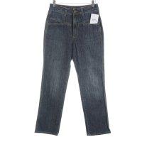 Closed High Waist Jeans blau meliert Street-Fashion-Look