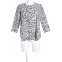 COS Oversized Bluse abstraktes Muster Casual-Look