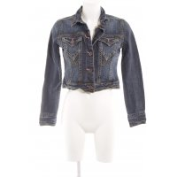 DKNY Jeans Jeansjacke blau Washed-Optik