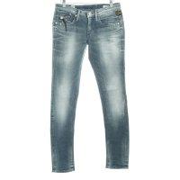 G-Star Raw Slim Jeans graublau-blassblau Biker-Look
