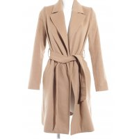 Hallhuber Donna Wollmantel camel Casual-Look