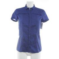 Hugo Boss Kurzarmhemd blau Business-Look