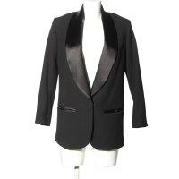 Isabel Marant Long-Blazer schwarz Elegant
