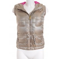 Juicy Couture Steppjacke goldfarben-pink Street-Fashion-Look