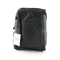 Mandarina Duck Trekking-Rucksack schwarz meliert Logoprägung