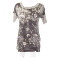 Marc Cain T-Shirt Motivdruck Casual-Look