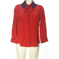 Marc Jacobs Hemd-Bluse rot Business-Look