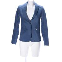 Mos Mosh Long-Blazer blau Business-Look