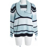 Rabe Strickpullover Ringelmuster Casual-Look